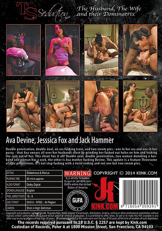 TSS033 - The Husband The Wife and their Dominatrix DVD (S) - Back
