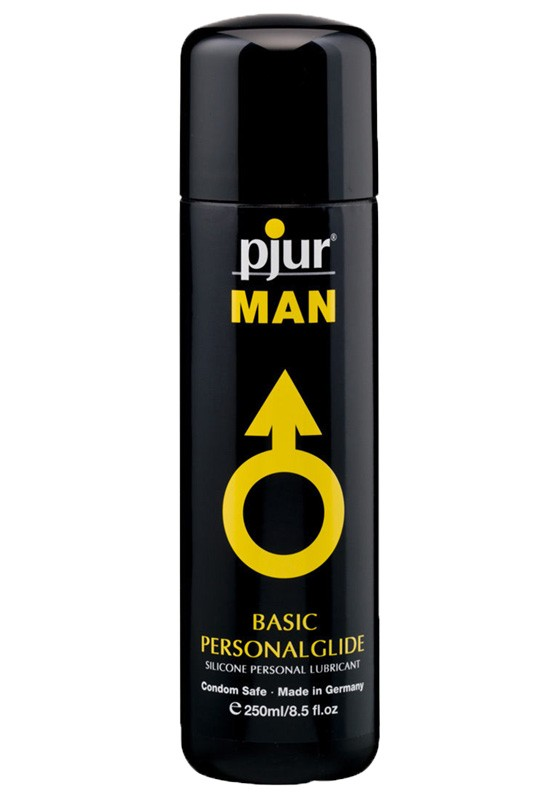 Pjur MAN Basic Personalglide Bottle 250 ml - Front