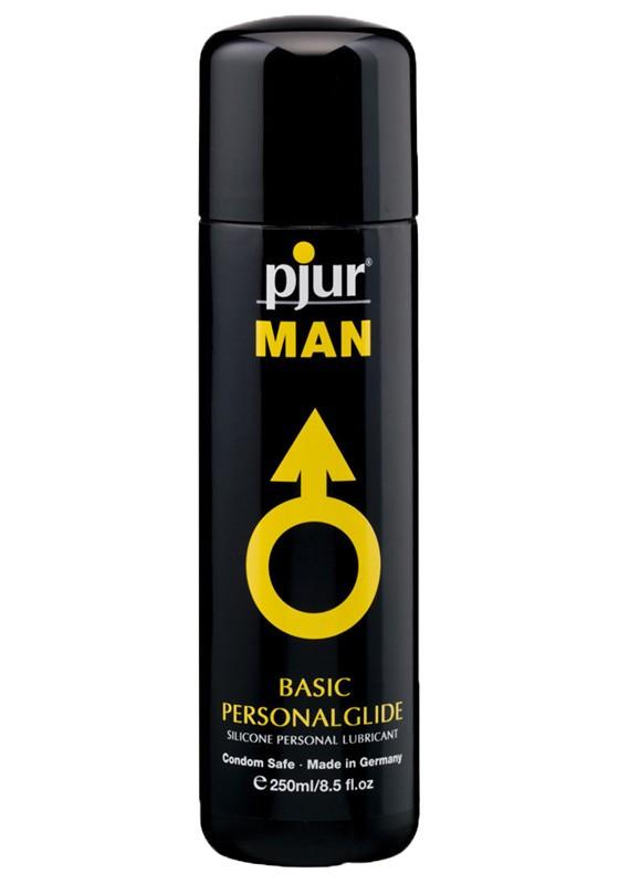 Pjur MAN Basic Personalglide Bottle 250 ml - Front