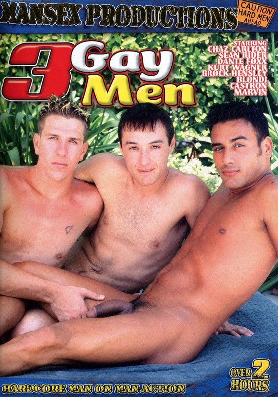 3 Gay Men DVD - Front