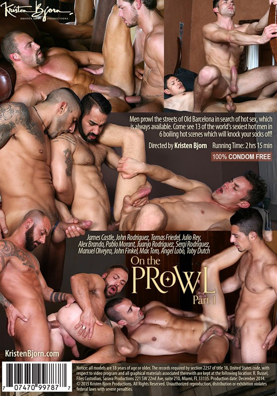 On The Prowl Part 1 DVD - Back