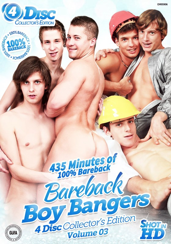 Bareback Boy Bangers Collector's Edition Volume 3 DVD - Front