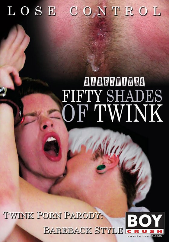 Fifty Shades of Twink DVD - Front