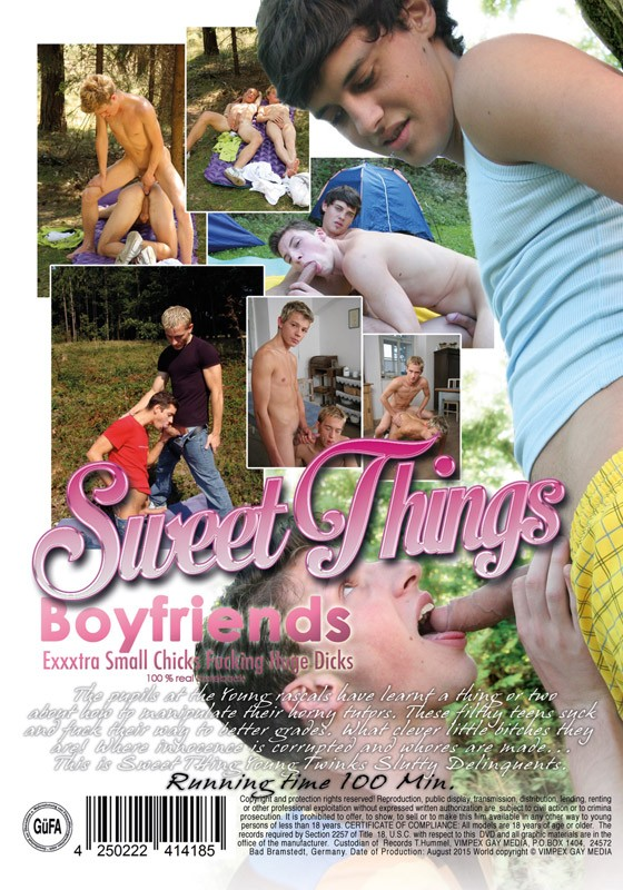 Boyfriends (Sweet Things) DVD - Back