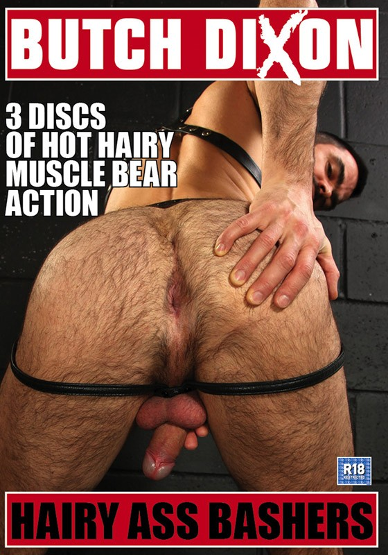 Hairy Ass Bashers DVD - Front