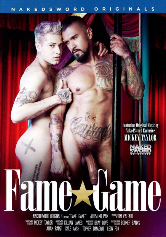 Fame Game DVD - Front