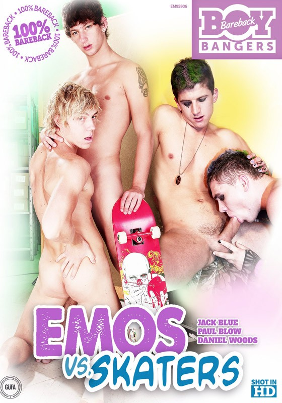 Emos VS Skaters DVD - Front