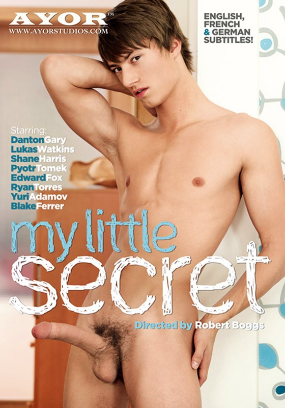 My Little Secret DVD - Front