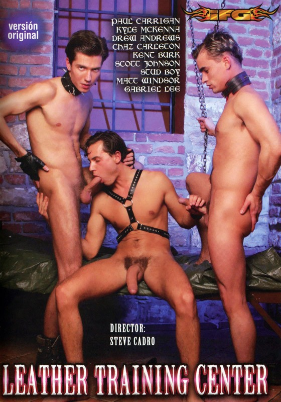Leather Training Center DVD - Front