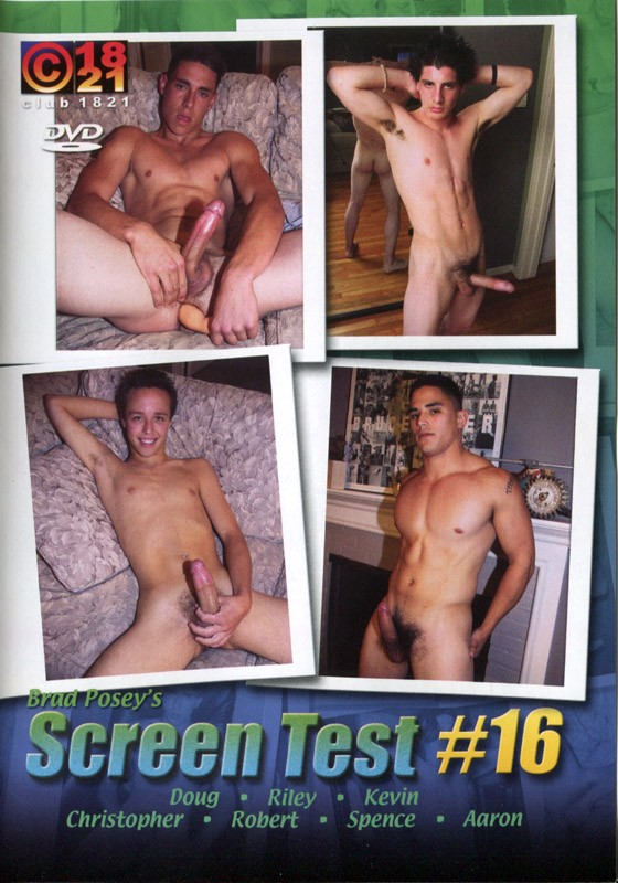 Brad Posey's Screen Test #16 DVD - Front