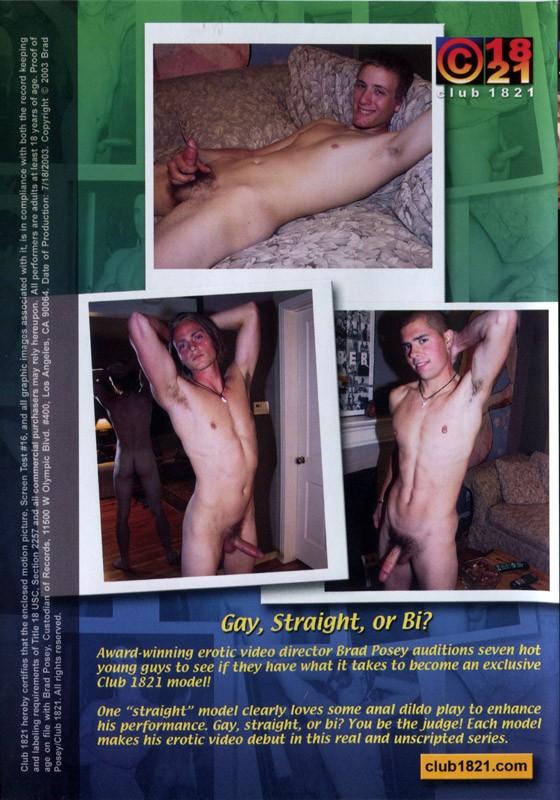 Brad Posey's Screen Test #16 DVD - Back
