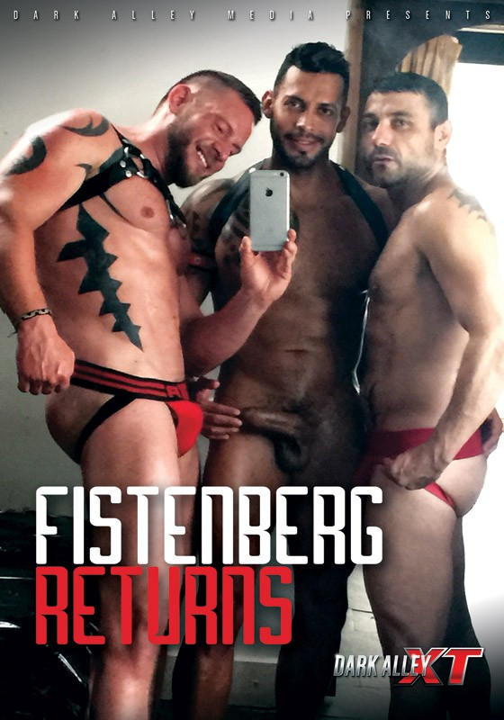 Fistenberg Returns DVD - Front
