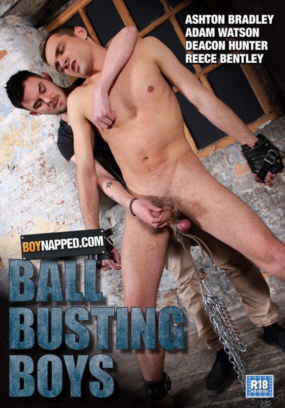Ball Busting Boys DVD - Front