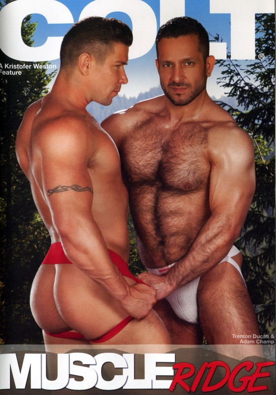 Muscle Ridge DVD - Front