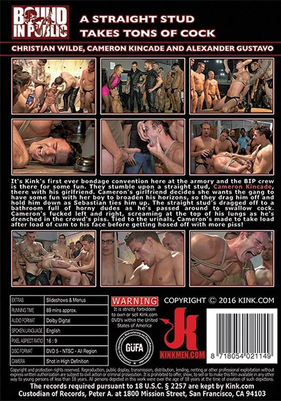 Bound in Public 99 DVD (S) - Back
