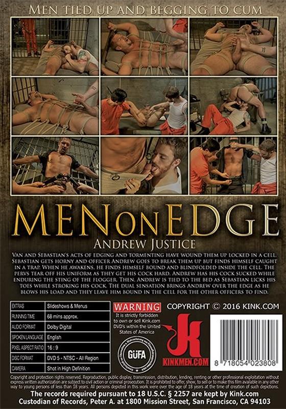 Men on Edge 39 DVD (S) - Back