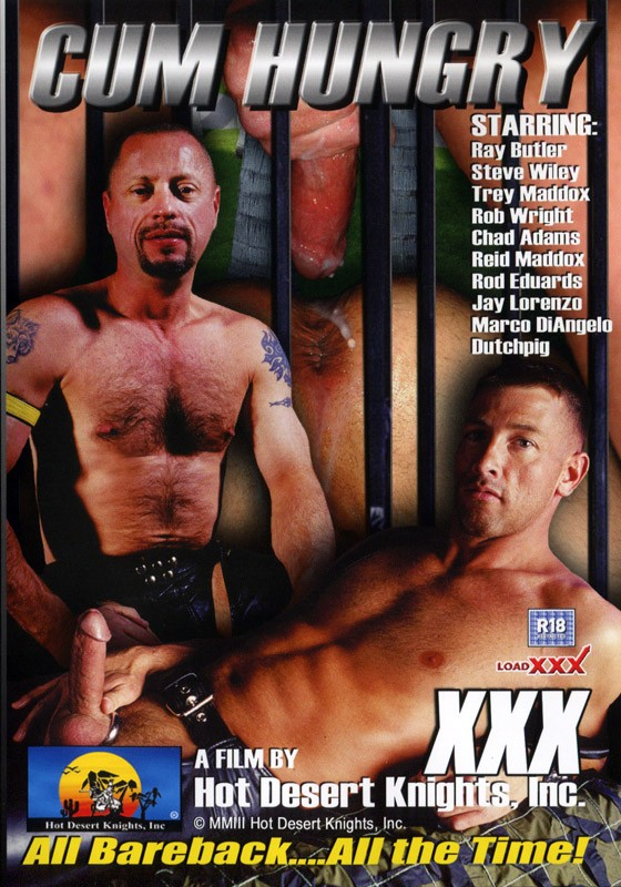 Cum Hungry (Hot Desert Knights) DVD - Front