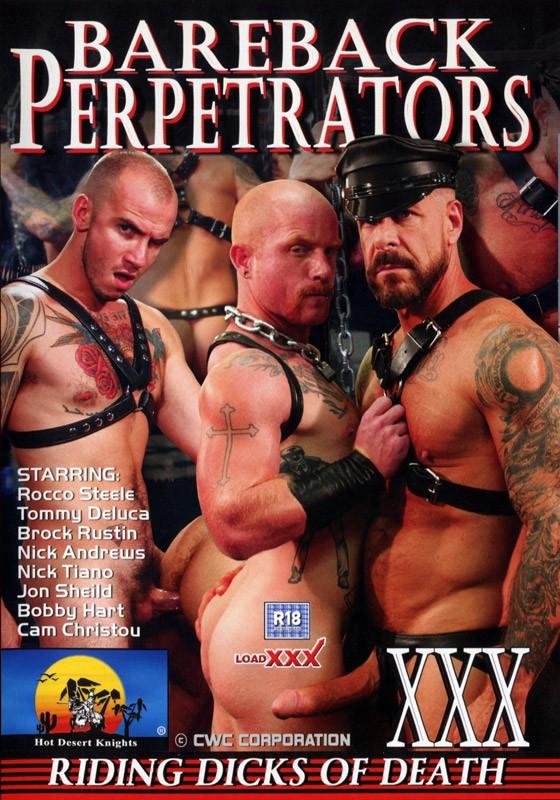 Bareback Perpetrators DVD - Front