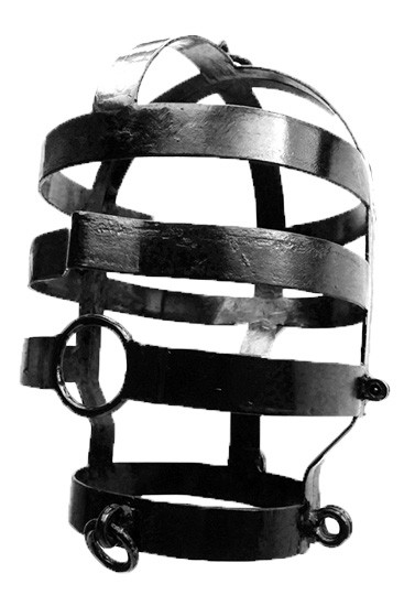 Head Cage, Large, Black Coated - Gallery - 001
