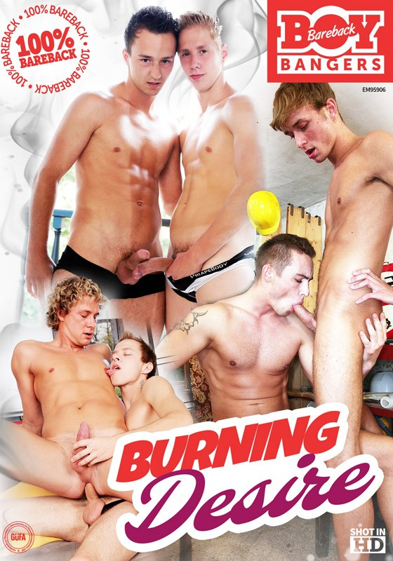 Burning Desire (BB Boy Bangers) DVD - Front