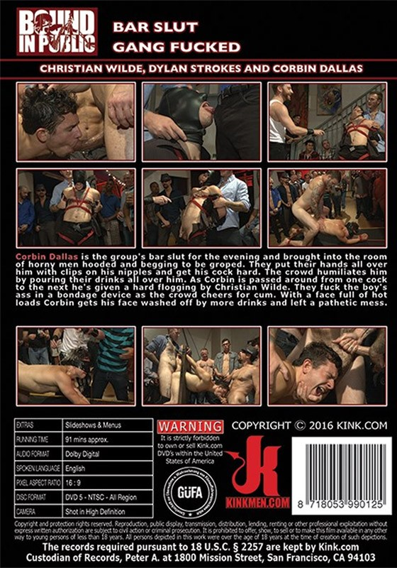 Bound in Public 103 DVD (S) - Back