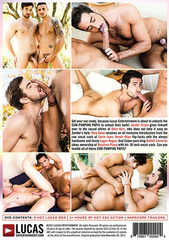 Cum-Pumping Papis DVD - Back