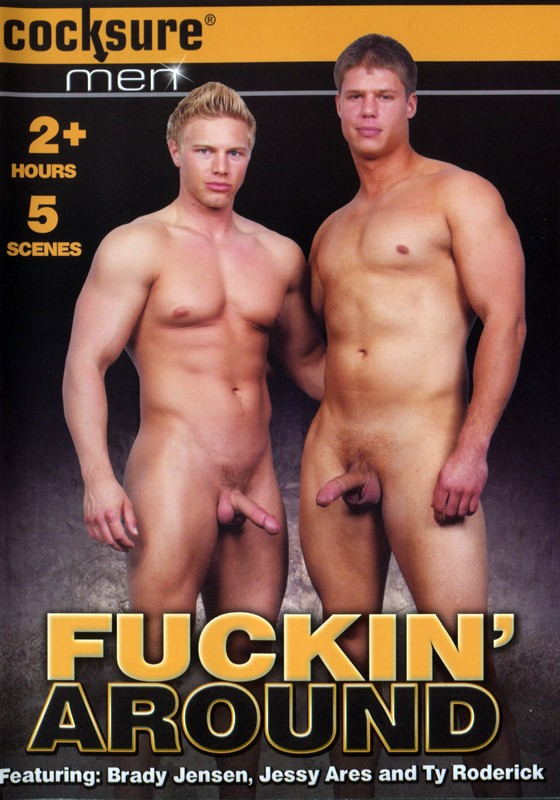 Fuckin' Around (Cocksure) DVD - Front