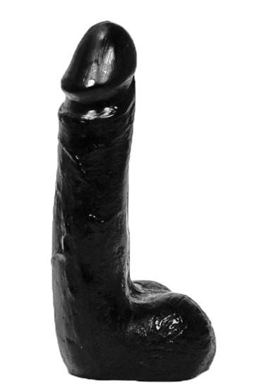 All Black AB05 Dildo - Front