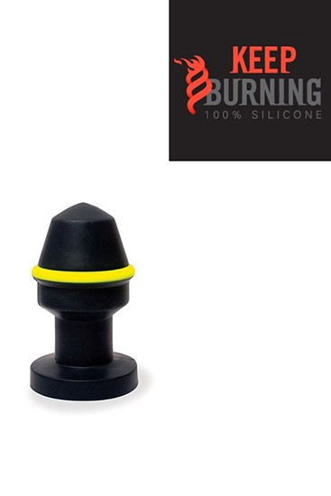 Fluo Pipe Plug - Black & Yellow - Gallery - 002