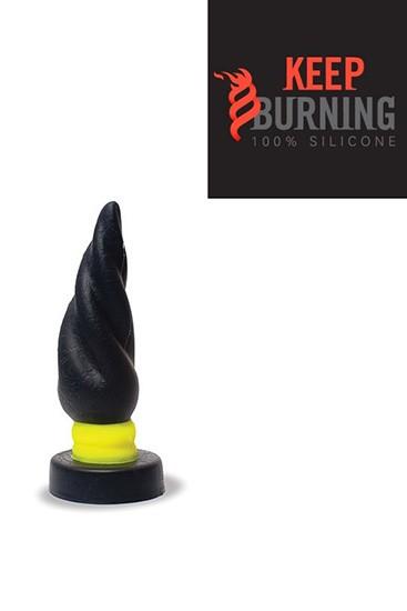 Fluo Burn Plug - Black & Yellow - Gallery - 002