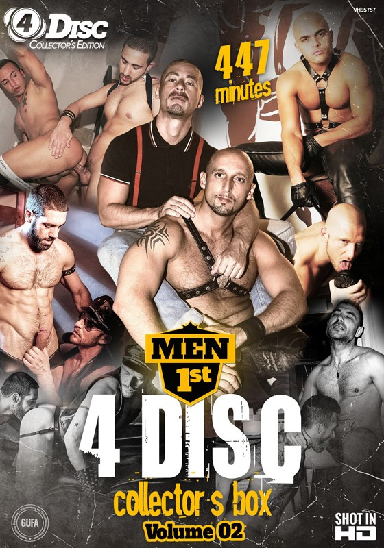 Men 1st 4 Disc Collector's Box volume 2 DVD - Front
