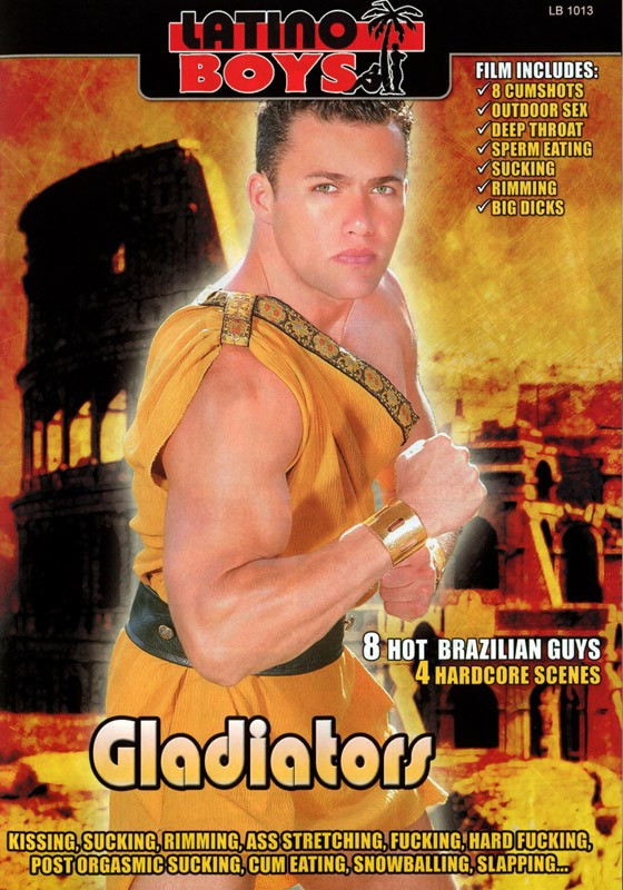 Gladiators DVD - Front