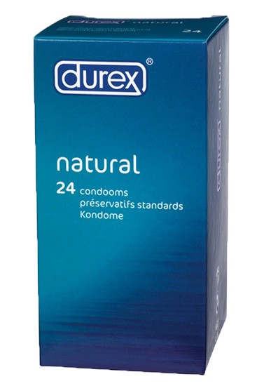 Durex Classic Natural (3 packages of 24 pieces) Condom - Gallery - 001