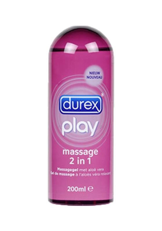 Durex Play Massage 200ML (6 pieces) Massage Oil - Front
