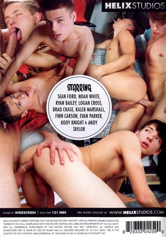 New Boy DVD - Back