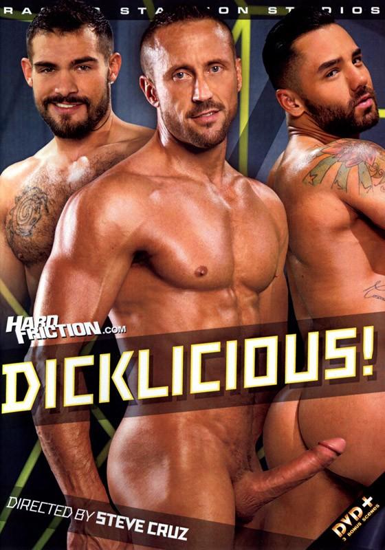 Dicklicious! (Raging Stallion) DVD - Front
