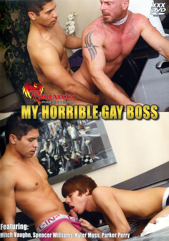My Horrible Gay Boss DVD - Front