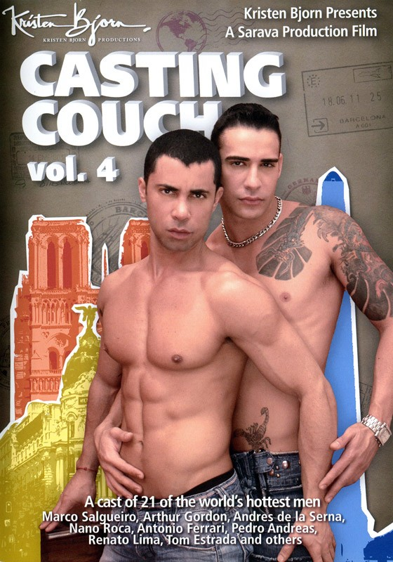 Casting Couch Vol. 4 DVD - Front