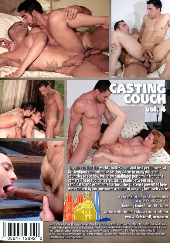 Casting Couch Vol. 4 DVD - Back