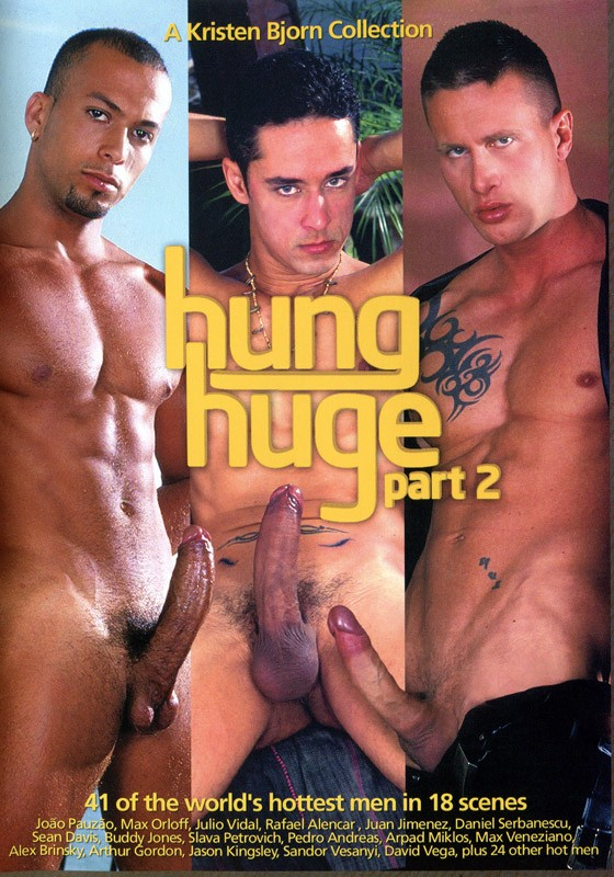 Hung Huge part 2 DVD - Front