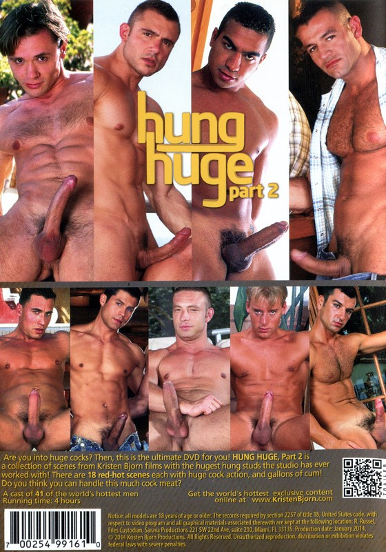 Hung Huge part 2 DVD - Back