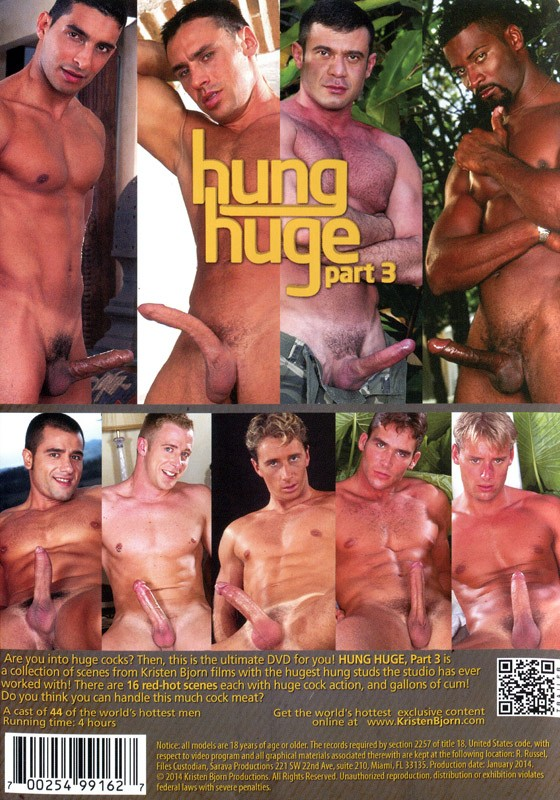 Hung Huge part 3 DVD - Back