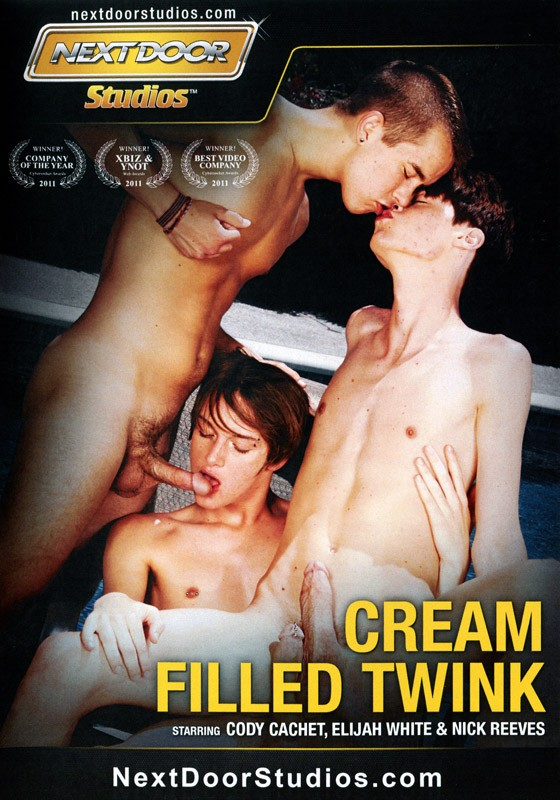 Cream Filled Twink DVD - Front