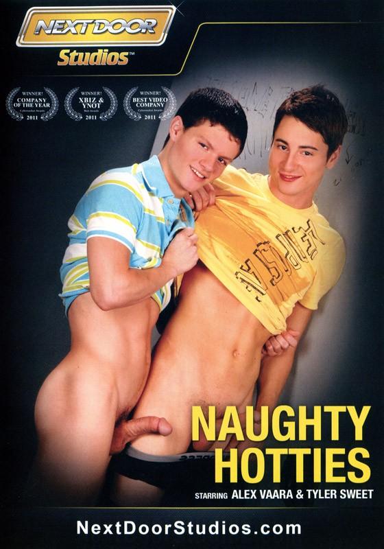 Naughty Hotties DVD - Front