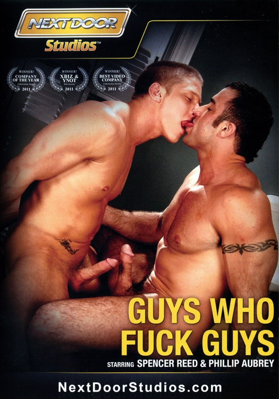 Guys Who Fuck Guys DVD - Front