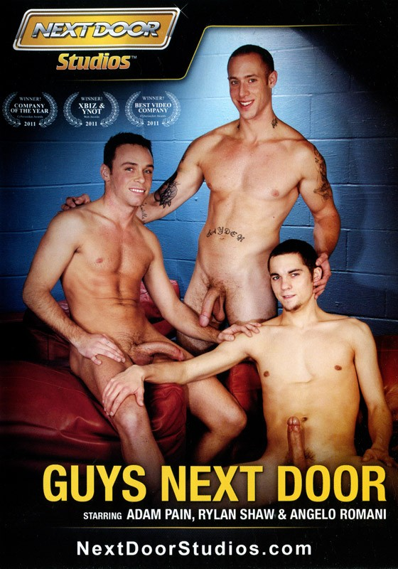 Guys Next Door DVD - Front