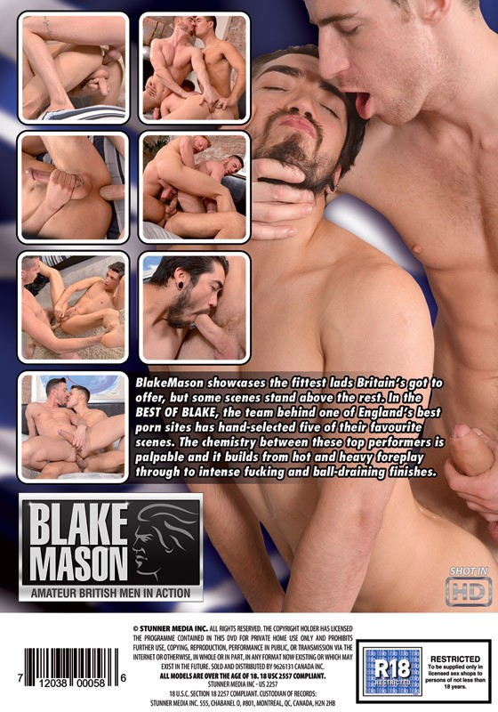 Best of Blake DVD - Back
