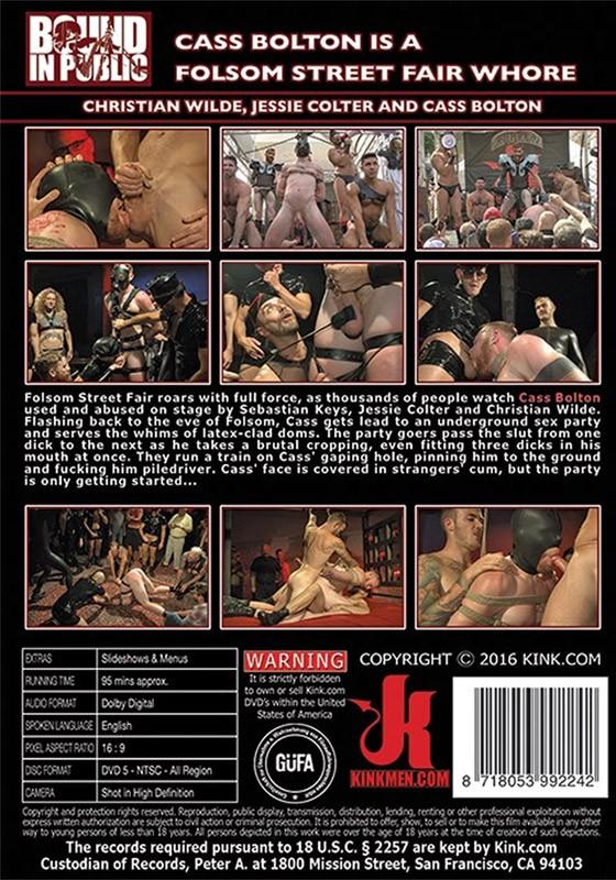Bound in Public 111 DVD (S) - Back