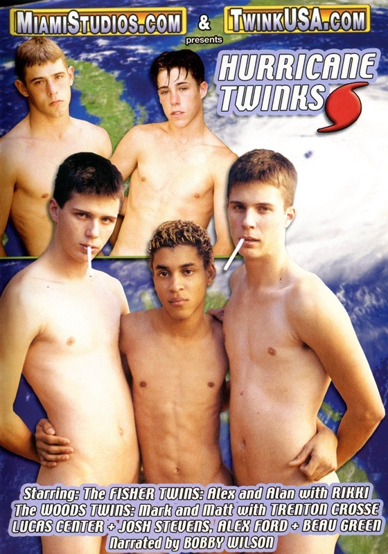 Hurricane Twinks DVD - Front