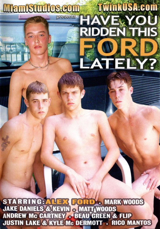 Have You Ridden This Ford Lately? DVD - Front